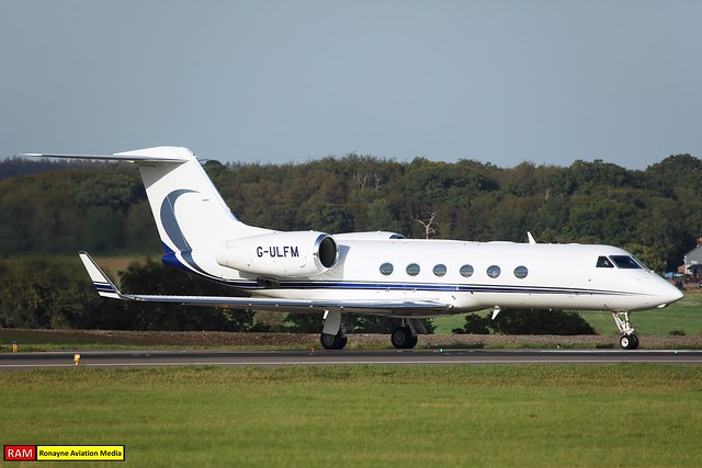 G-ULFM | Gulfstream G450 | Pendley Aviation
