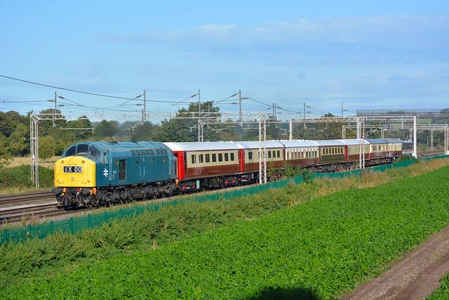 40145 tnt 90001 Rugeley North Junction 25/09/2020