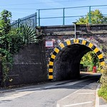 Narrow Lytham Road Railway Bridge