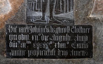 hic jacet Johannes Wyncoll, clothier