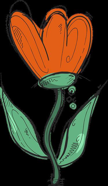 gambar berwarna flora