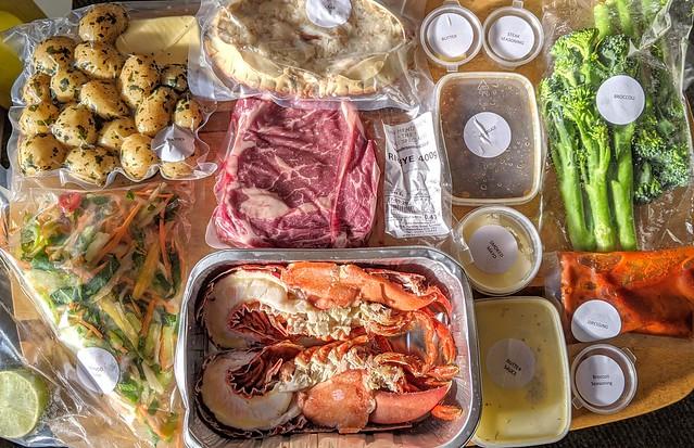 Best of Land & Sea food box