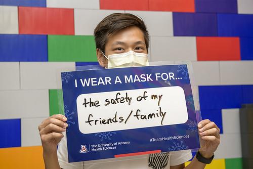 I Wear a Mask ...