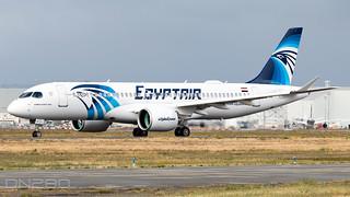 Egyptair A220-371 55091 C-FOWF / SU-GFI