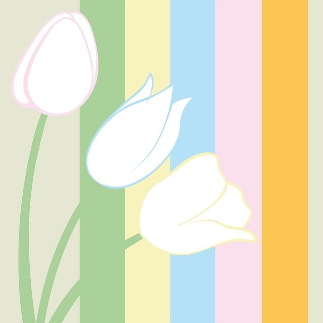 gambar flora bunga sederhana