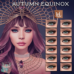 Voodoo - Autumn Equinox Eyeshadow Lelutka Evolution