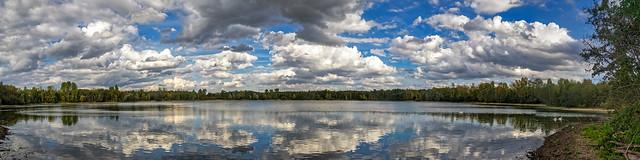Peringsmaar - Panorama 4 zu 1 aus 6 Einzelbildern