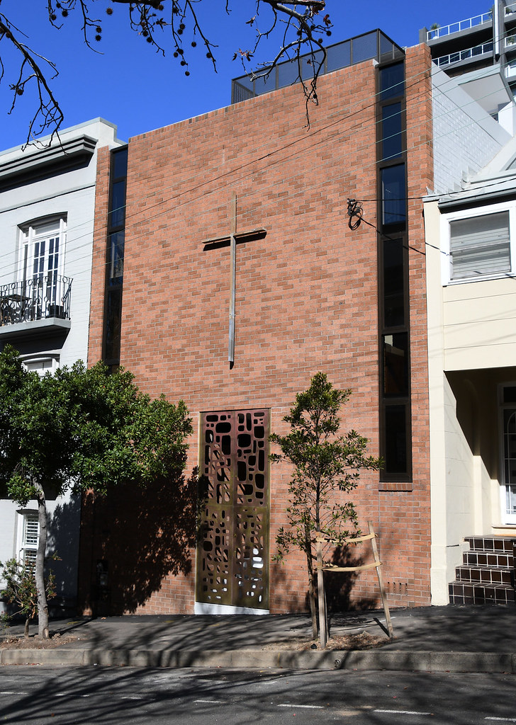 Church of St Alban, Liberal Catholic, Darlinghurst, Sydney, NSW.
