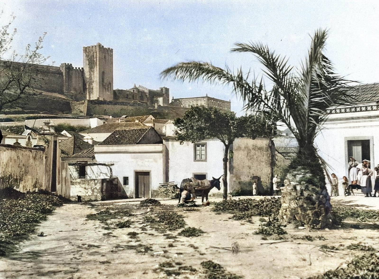 Largo da Palmeira (Rua do Salgueiro), Palmela (B. Korhmann, 1935)