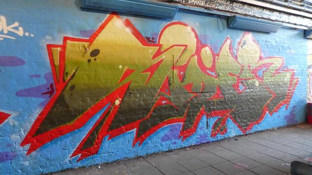 Sider graffiti, Leake Street