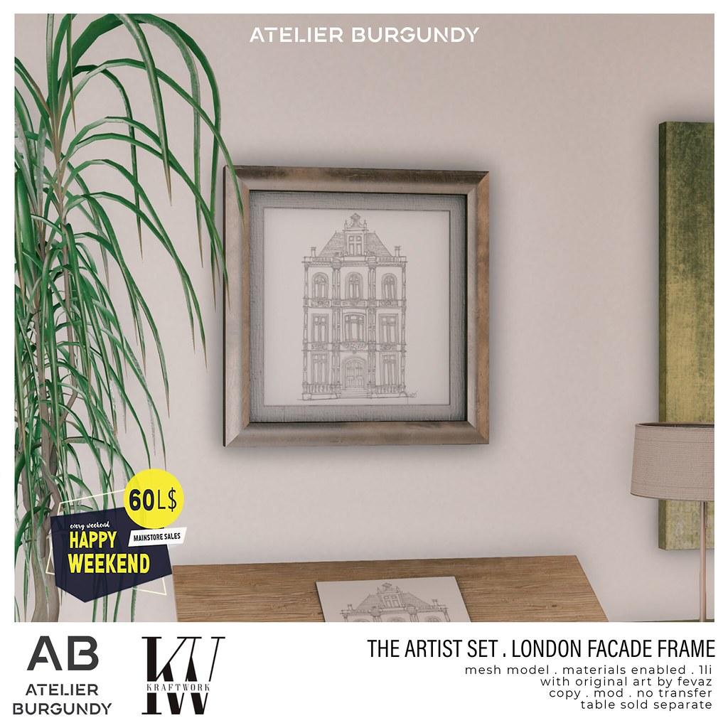 Atelier Burgundy + KraftWork . London Facade Frame