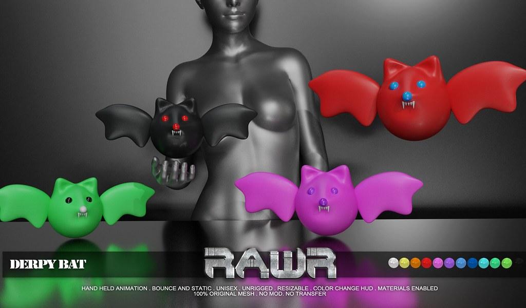 RAWR! Derpy Bat PIC