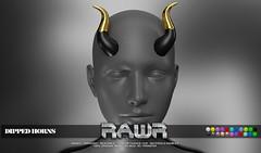 RAWR! Dipped Horns PIC
