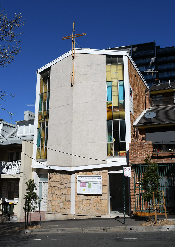 St Paul's Lutheran Church, Darlinghurst, Sydney, NSW.