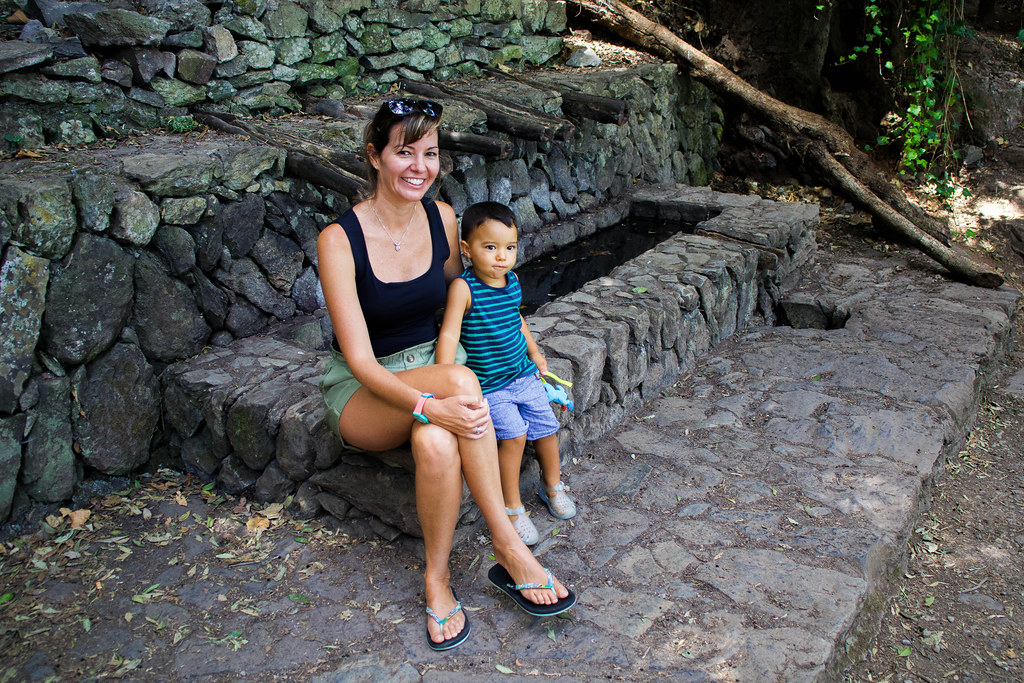 Chorros de Epina sin agua en La Gomera