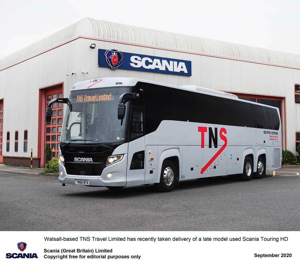 Keltruck supporting Scania bus & coach operators