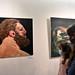 A Legyőzött határok című kiállítás megnyitója Szolnokon