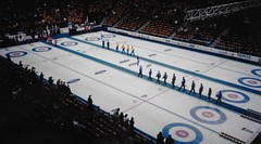Men's 1996 World Curling Championship at Copps Coliseum in Hamilton