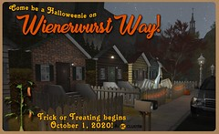 -RC- Cluster Trick or Treat at Wienerwurst Way 2020!