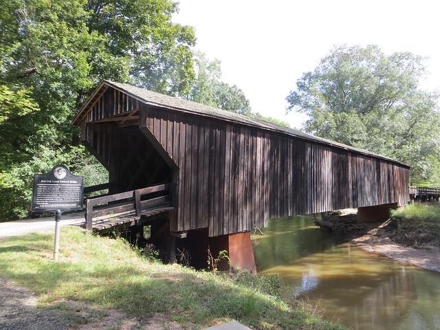 Red Oak Creek Covered Bridge Imlac GA