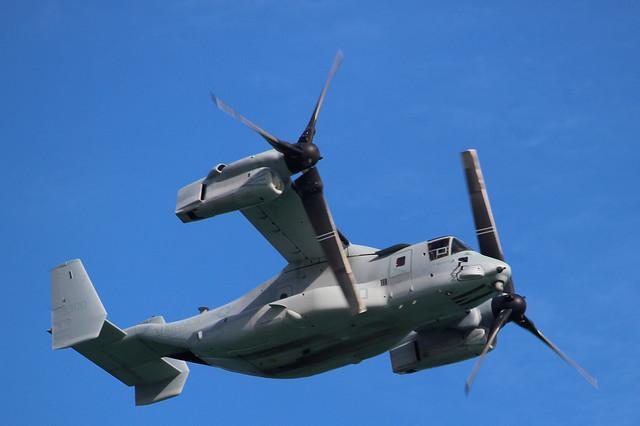 Osprey Aircraft over Topsail Beach NC