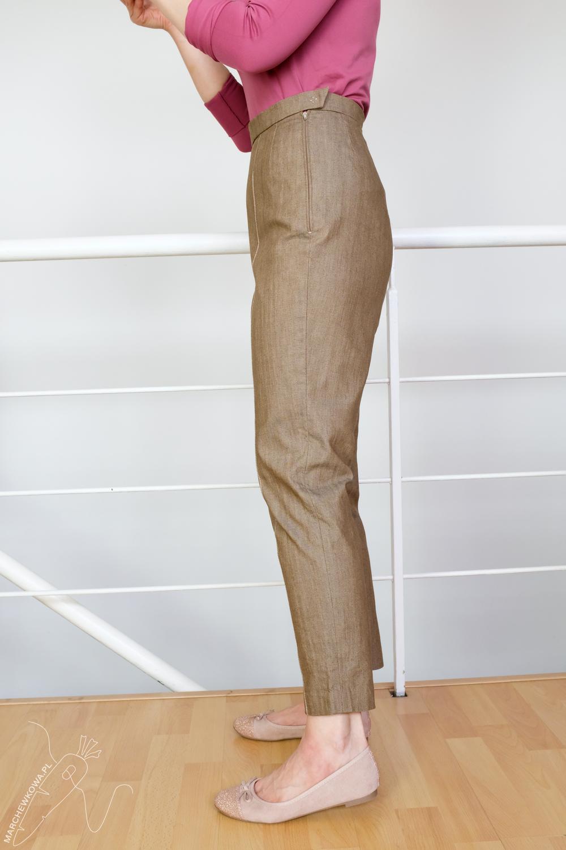 marchewkowa, pracownia krawiecka, tu się szyje, Wrocław, made by me, retro, vintage, 1960s, trousers