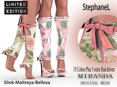 60L WeeKend [StephaneL] MIRANDA SHOES-SOCKS LIMITED EDITION FATPACK