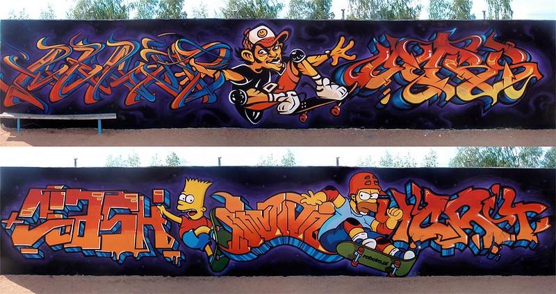 Homer Simpson with Awant3 & Ogryz & Clash & Etanol & Fix & Tort 2013