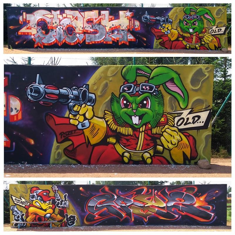 Bucky O'Hare with Clash & Ogryz 2017