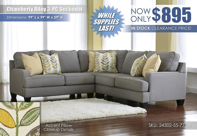 Chamberly Alloy 3 PC Sectional_24302-55-77-56
