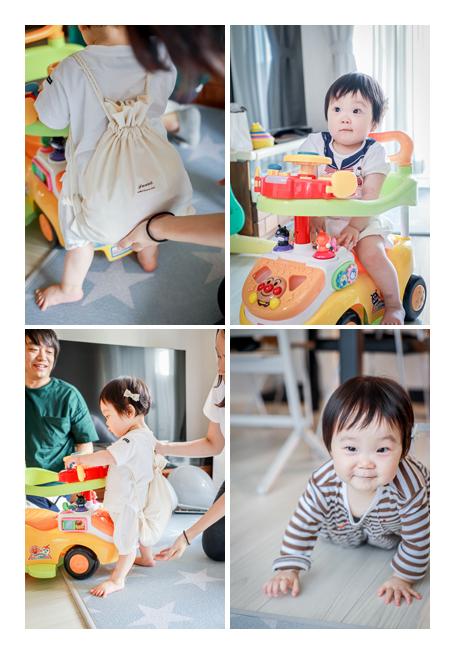 1歳の誕生日 一升餅 プレゼントのアンパンマンカー