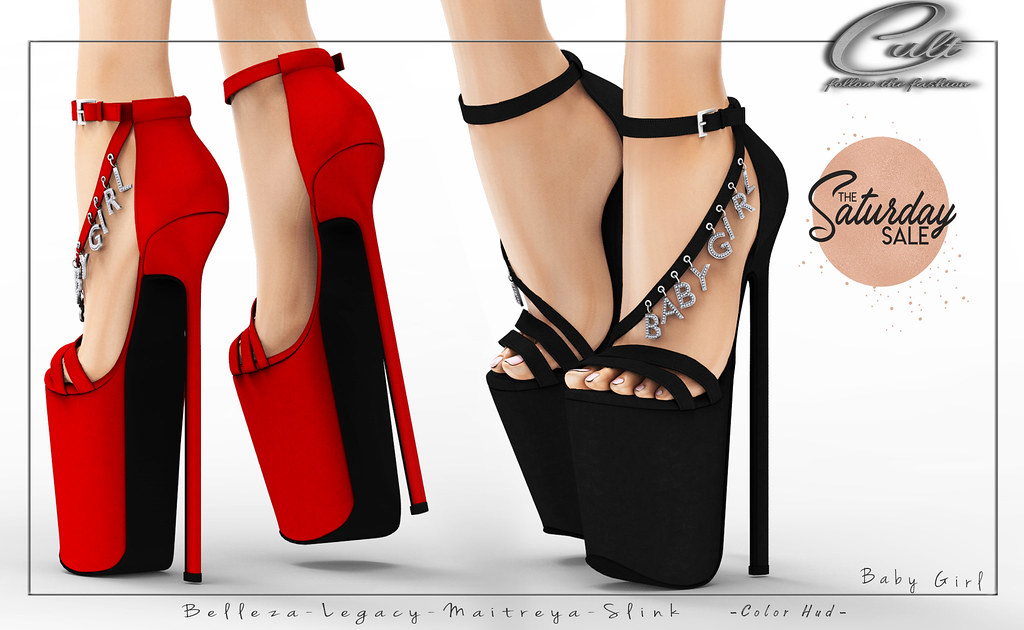 : CULT : Baby Girl Heels with HUD