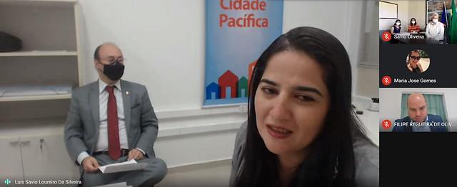 Reunião para Certificação dos Municípios de Escada e Lagoa Grande no Projeto Cidade Pacífica