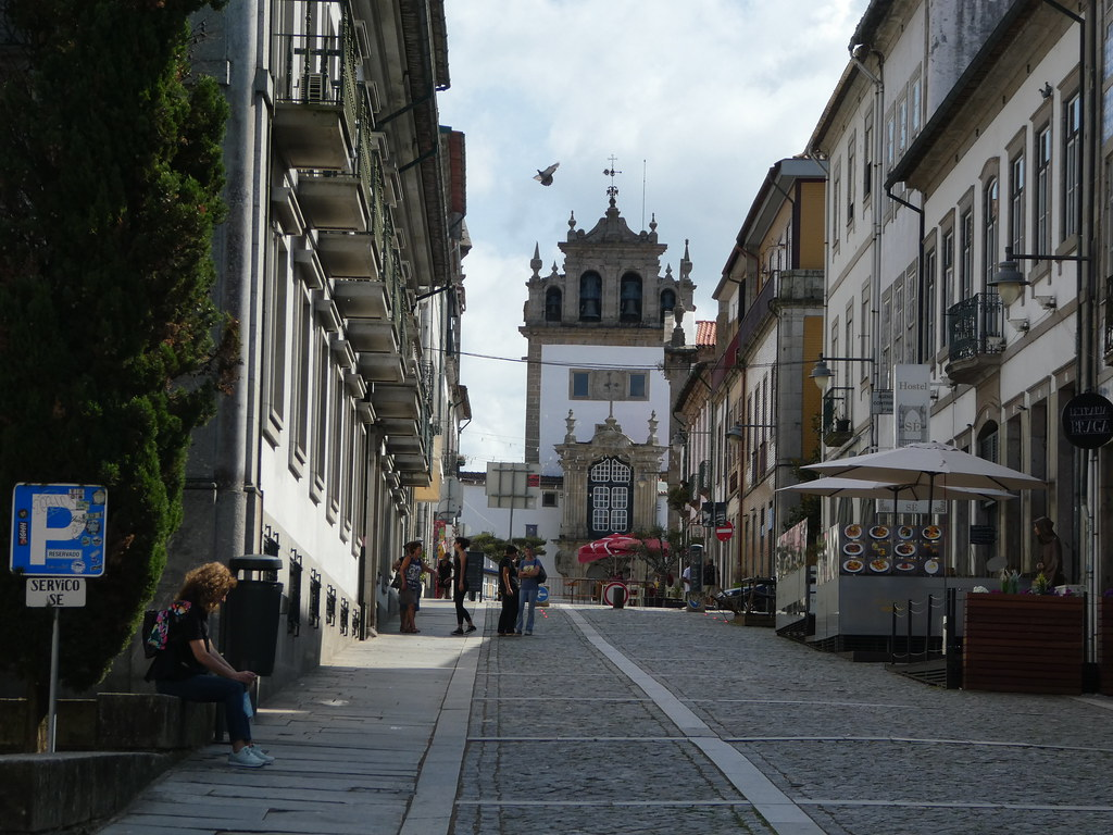 Braga Cathedral in the distance