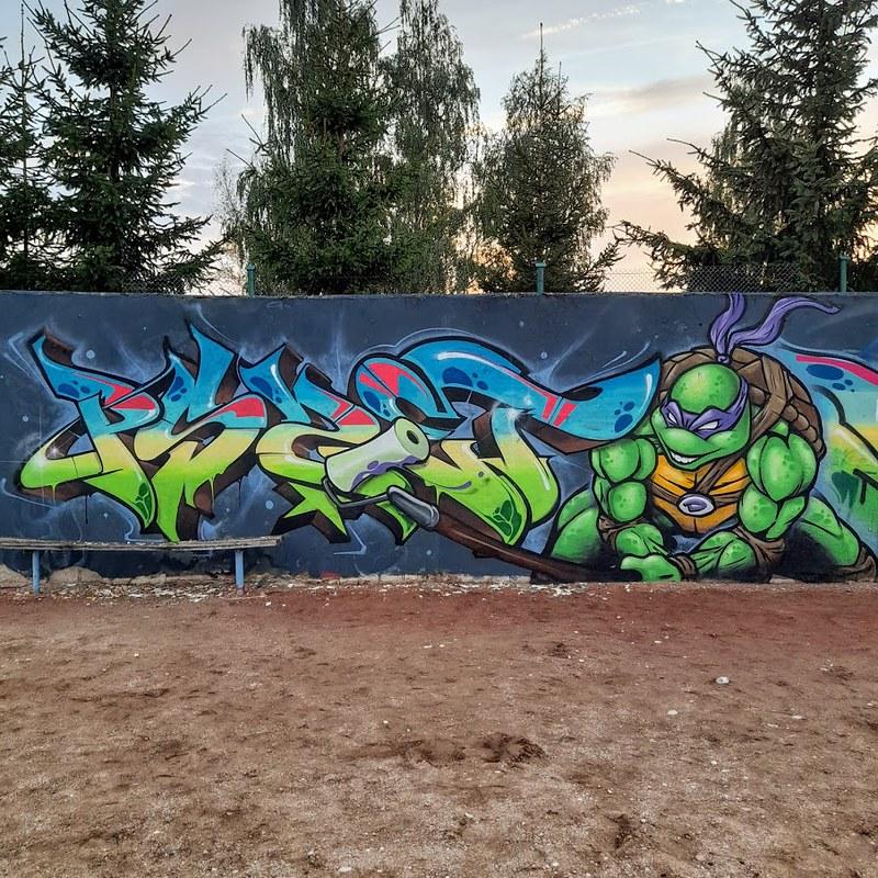 Donatello witch Ogryz (Pszet's letters) 2020