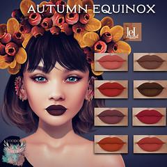 Voodoo - Autumn Equinox Lips Lelutka Evolution