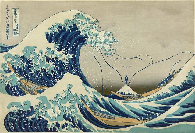Great Wave off Kanagawa - Tranquility