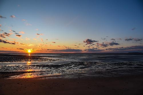sunset sea capecod nikon d750