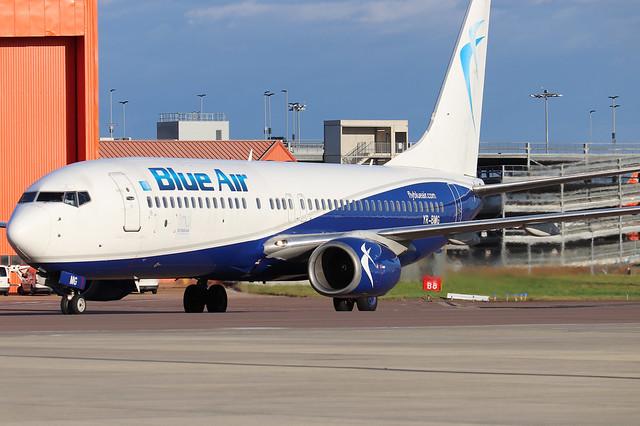 Blue Air YR-BMG LTN 26/09/20