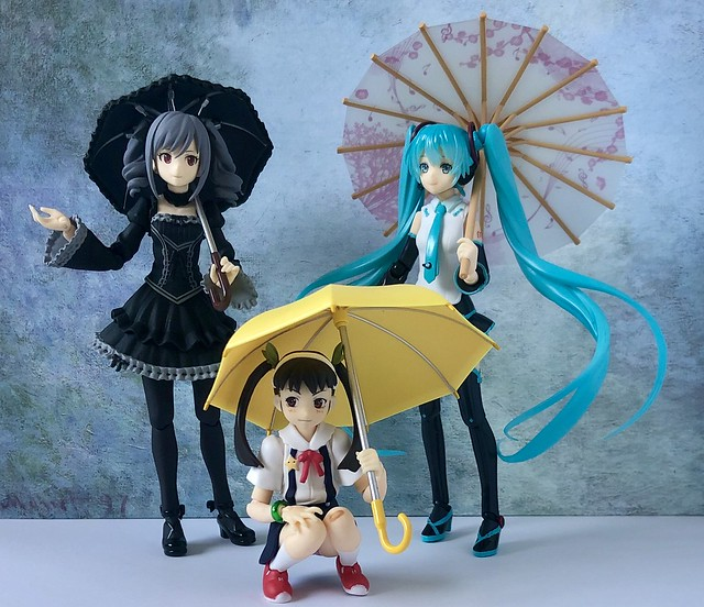 Twintails Umbrella Trio