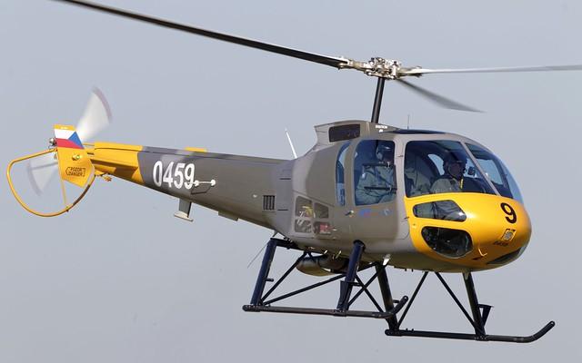 Czech Air Force Enstrom 480B-G @ LKMT
