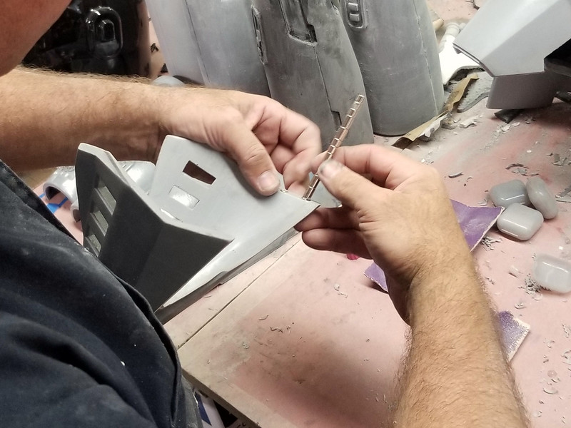 Inserting magnets