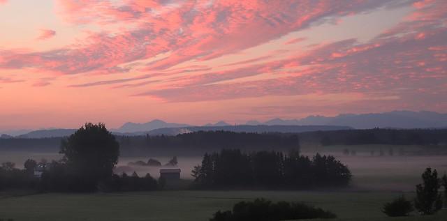 A wonderful morning in Bavaria