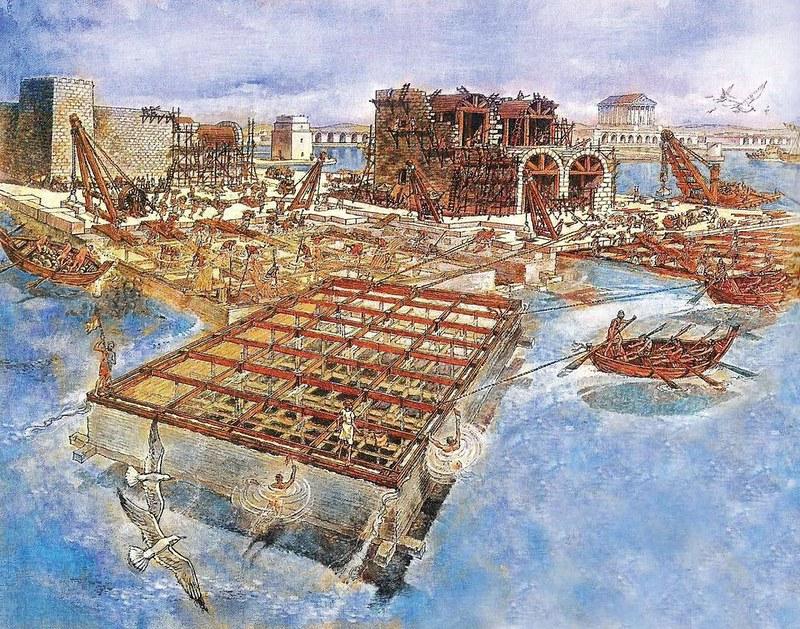 Caesarea-herodian-harbor-building-ab-1