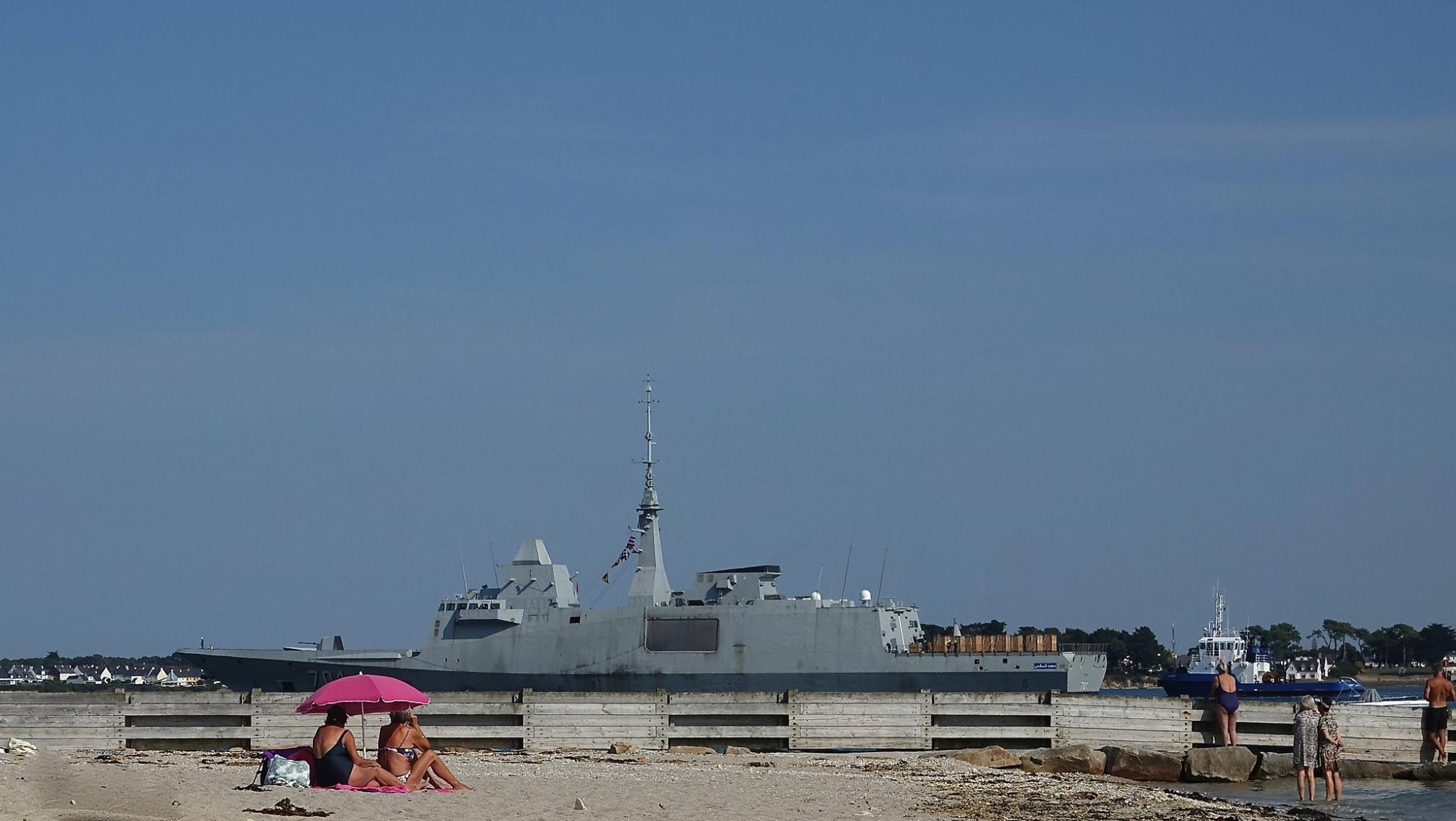 Royal Moroccan Navy FREMM Frigate / FREMM Marocaine - Mohammed VI - Page 14 50382975373_2ddb9fca81_o