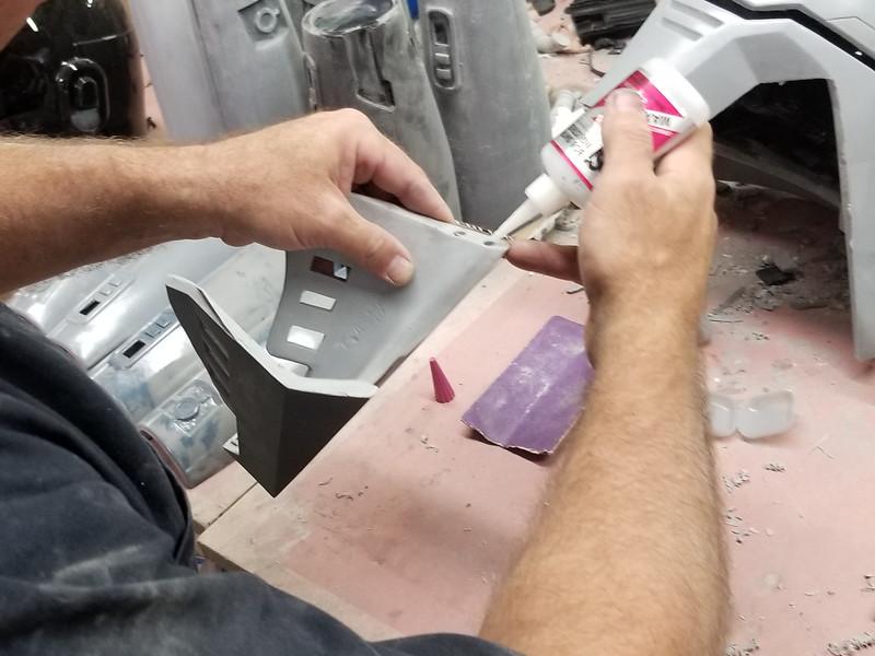 Glue in Magnet Holes