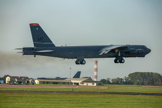60-0007 Boeing B-52H Stratofortress United States Air Force (USAF) Minot AFB