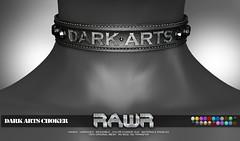 RAWR! Dark Arts Choker PIC