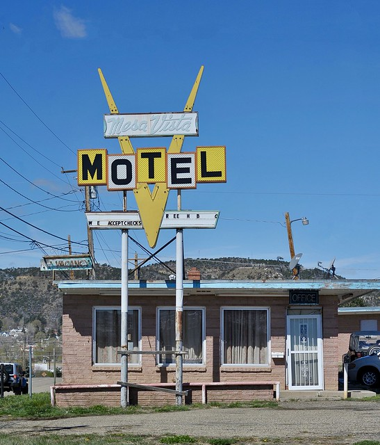 Mesa Vista Motel - Raton, New Mexico
