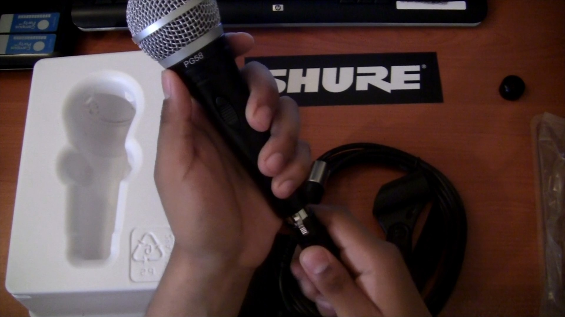 Shure PG58 Cable XRL